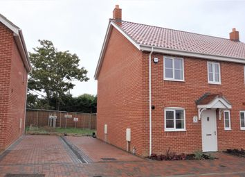 Thumbnail 3 bed semi-detached house for sale in Walker Gardens, Wrentham, Beccles