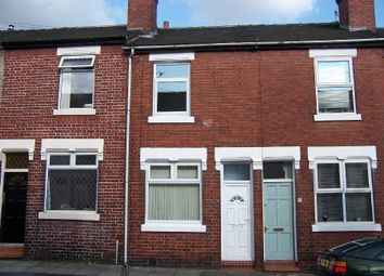 Thumbnail 2 bedroom terraced house to rent in Clare Street, Basford, Stoke On Trent, Staffordshire