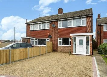 Thumbnail 3 bedroom semi-detached house for sale in Thorne Close, Ashford, Surrey
