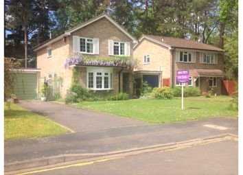 Thumbnail 4 bed detached house for sale in Lockswood, Brookwood