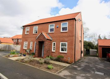 Thumbnail 3 bed semi-detached house for sale in Elizabethan Gardens, Retford