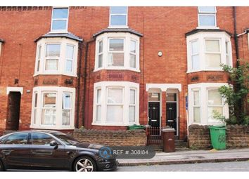 Thumbnail 4 bed terraced house to rent in Lees Hill Street, Nottingham