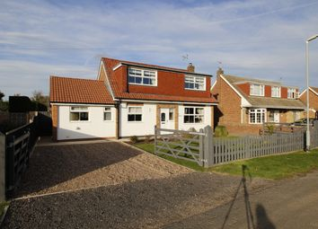 Thumbnail 3 bed detached house for sale in Littlefield Lane, Marshchapel, Grimsby
