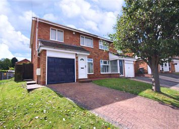 Thumbnail 3 bed semi-detached house for sale in Ledwych Road, Droitwich, Worcestershire