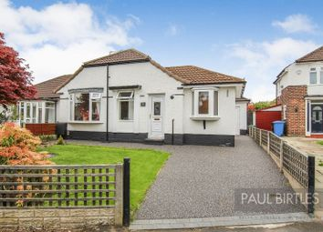 Thumbnail 2 bed semi-detached bungalow for sale in Kingston Drive, Urmston, Manchester