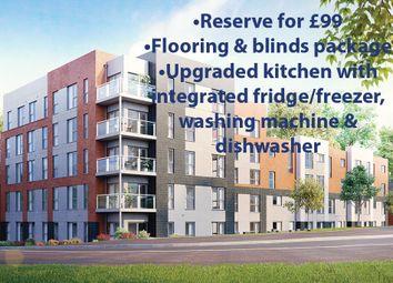 "Thumbnail 1 bed flat for sale in ""The Houghton"" at Saxon Lane, Upton, Northampton"