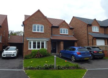 Thumbnail 4 bed detached house for sale in Rose Close, Cuddington, Northwich