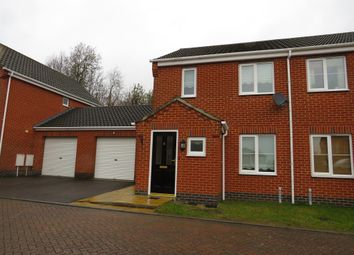 Thumbnail 2 bed semi-detached house for sale in Mosely Court, Norwich