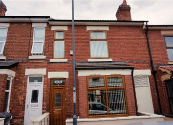 Thumbnail 3 bed terraced house for sale in Fairfax Road, Derby