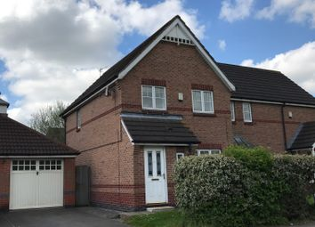 Thumbnail 3 bed semi-detached house to rent in Gooding Avenue, Leicester