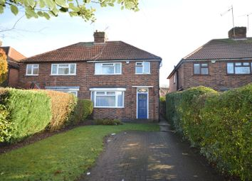Thumbnail 3 bed semi-detached house for sale in St. Denys Road, Evington, Leicester
