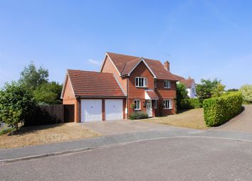 Thumbnail 4 bed detached house for sale in Lower Coney Grove, Offton, Ipswich, Suffolk