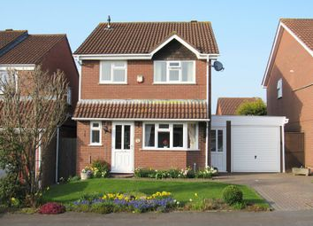 Thumbnail 4 bed detached house for sale in Rushford Close, Monkspath, Solihull