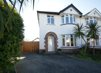 Thumbnail 3 bed semi-detached house for sale in Central Avenue, Paignton