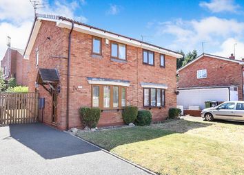Thumbnail 2 bed semi-detached house for sale in Warmley Close, Wolverhampton