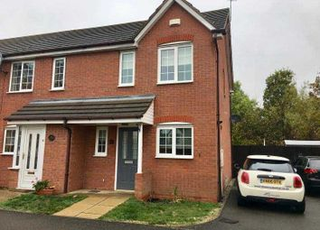 Thumbnail 2 bed end terrace house to rent in Garston Road, Great Oakley, Corby