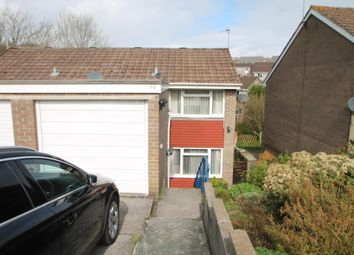 Thumbnail 3 bed semi-detached house to rent in Holmwood Avenue, Goosewell, Plymstock, Plymouth