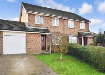Thumbnail 3 bed semi-detached house for sale in Mason Close, East Grinstead, West Sussex