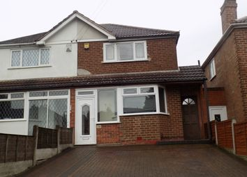 Thumbnail 2 bed semi-detached house to rent in Dyas Road, Great Barr
