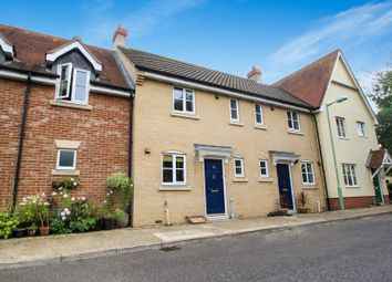Thumbnail 2 bedroom terraced house to rent in Bulrush Crescent, Bury St. Edmunds