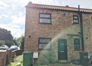 Thumbnail 2 bed end terrace house to rent in Strensall Road, Earswick, York
