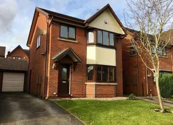 Thumbnail 3 bed detached house to rent in Cambridge Close, Gillow Heath, Biddulph