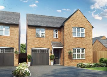 "Thumbnail 4 bed detached house for sale in ""The Kendal  "" at Oakington Road, Cottenham, Cambridge"