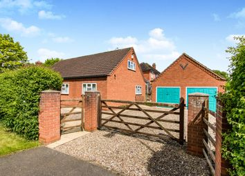 Thumbnail 3 bed detached bungalow for sale in Harrowby Lane, Grantham