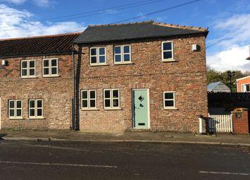 Thumbnail 2 bed terraced house to rent in St. Hildas Street, Sherburn, Malton