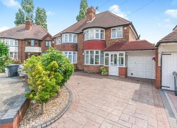 Thumbnail 3 bed semi-detached house for sale in Charminster Avenue, Birmingham, West Midlands, .