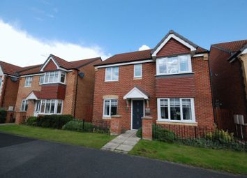 Thumbnail 4 bedroom detached house for sale in Embleton Walk, Ashington