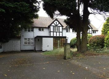 Thumbnail 4 bed semi-detached house for sale in The Crescent, Walsall, West Midlands
