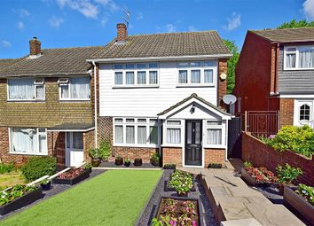 Thumbnail 3 bed terraced house for sale in Brentwood Crescent, Brighton, East Sussex