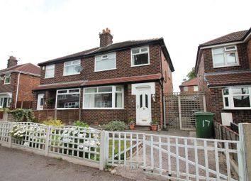 Thumbnail 3 bed semi-detached house for sale in Dennington Drive, Urmston, Manchester
