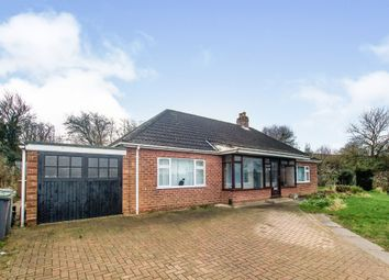 Thumbnail 3 bed detached bungalow for sale in Lincoln Road, Washingborough, Lincoln
