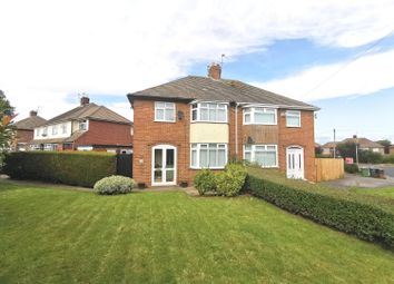 Thumbnail 3 bed semi-detached house for sale in Hall Drive, Greasby, Wirral