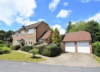 Thumbnail 4 bed detached house for sale in Sorrel Drive, Lightwater, Surrey