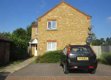 Thumbnail 1 bed flat to rent in Hunstanton Close, Colnbrook, Slough