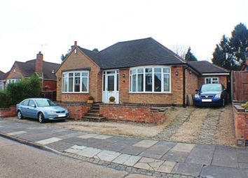 Thumbnail 3 bed bungalow for sale in Summerlea Road, Leicester