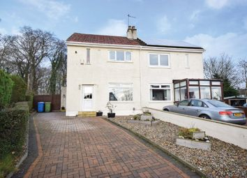 Thumbnail 3 bed semi-detached house for sale in Woodside Avenue, Thornliebank, Glasgow