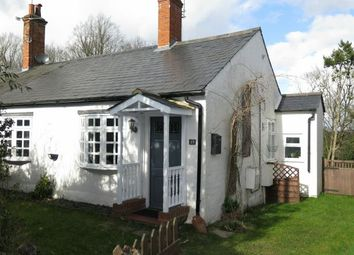 Thumbnail 2 bedroom semi-detached bungalow for sale in Constabulary Cottages, Oriental Road, Sunninghill, Ascot, Berkshire