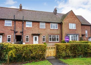 Thumbnail 3 bedroom terraced house for sale in Crossfield Crescent, York