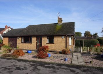 Thumbnail 2 bedroom detached bungalow for sale in Keepers Close, Blythe Bridge, Stoke-On-Trent