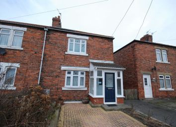 Thumbnail 2 bed semi-detached house for sale in Church Avenue, West Sleekburn, Choppington