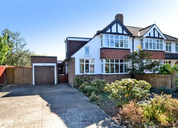 Thumbnail 4 bedroom semi-detached house for sale in Malden Green Avenue, Worcester Park, Surrey