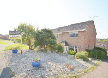 Thumbnail 2 bed end terrace house for sale in Conifer Way, Weymouth
