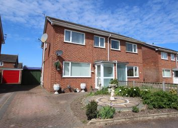Thumbnail 3 bed semi-detached house for sale in Church View Close, Sprowston