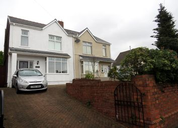 Thumbnail 3 bed semi-detached house for sale in Vicarage Road, Morriston, Swansea