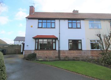 Thumbnail 3 bed semi-detached house for sale in Overdale Avenue, Barnston, Wirral
