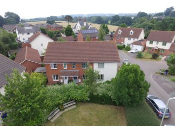 Thumbnail 2 bed terraced house for sale in Whiteway Close, Whimple, Exeter